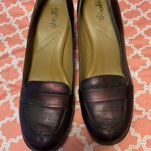 Euro Soft Leather Mary Jane Casual Pumps Shoes